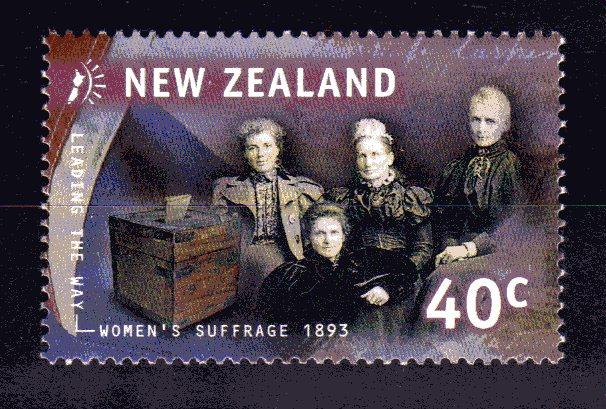 Nueva Zelanda, la primera en reconocer el voto femenino