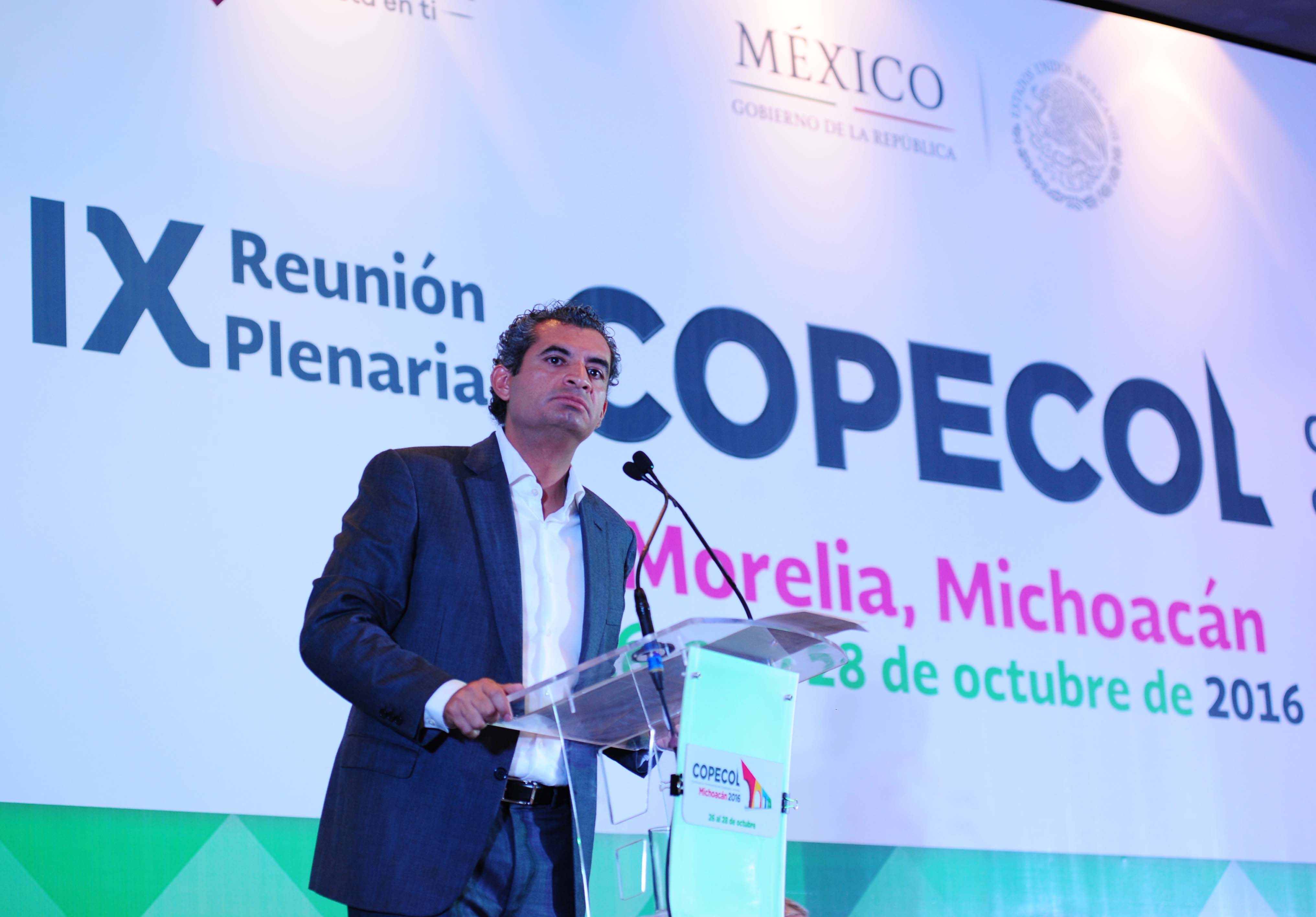 PALABRAS DEL DR. ENRIQUE OCHOA REZA, EN LA IX ASAMBLEA PLENARIA DE LA CONFERENCIA PERMANENTE DE CONGRESOS LOCALES