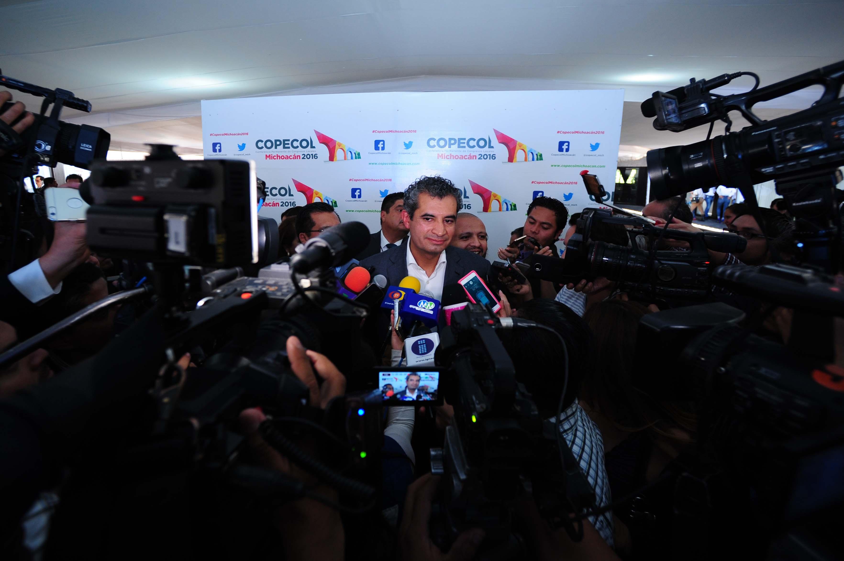 Entrevista al Dr. Enrique Ochoa Reza, al término de su participación en la IX Reunión Plenaria de la Conferencia Permanente de Congresos Locales