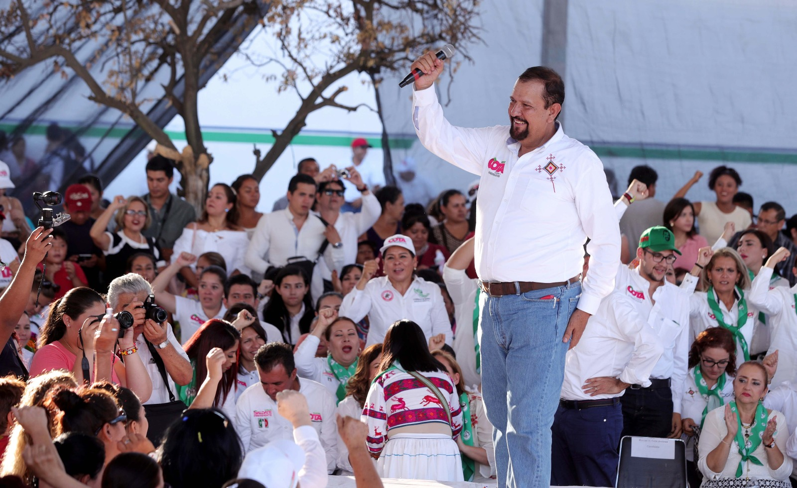 Ricardo Anaya quiere ocultar en un lodazal que en Nayarit, el junior ya no da para más, afirma Ochoa