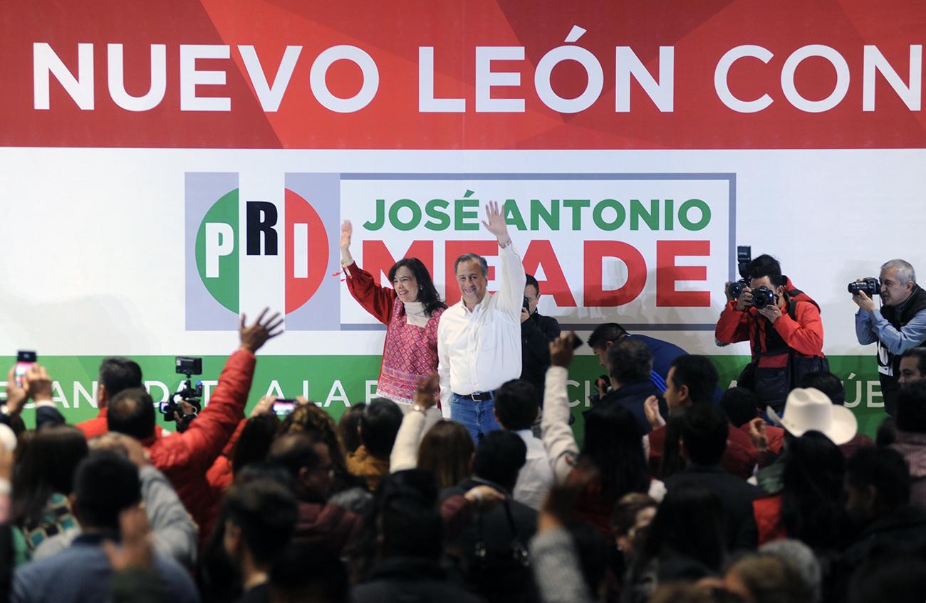 Encuentro de José Antonio Meade con la militancia priista de Nuevo León