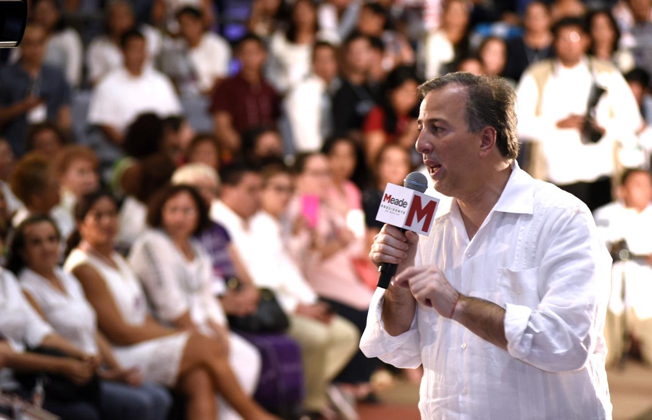 José Antonio Meade en el Foro Puntos de Encuentro México La Fuerza de las Mujeres