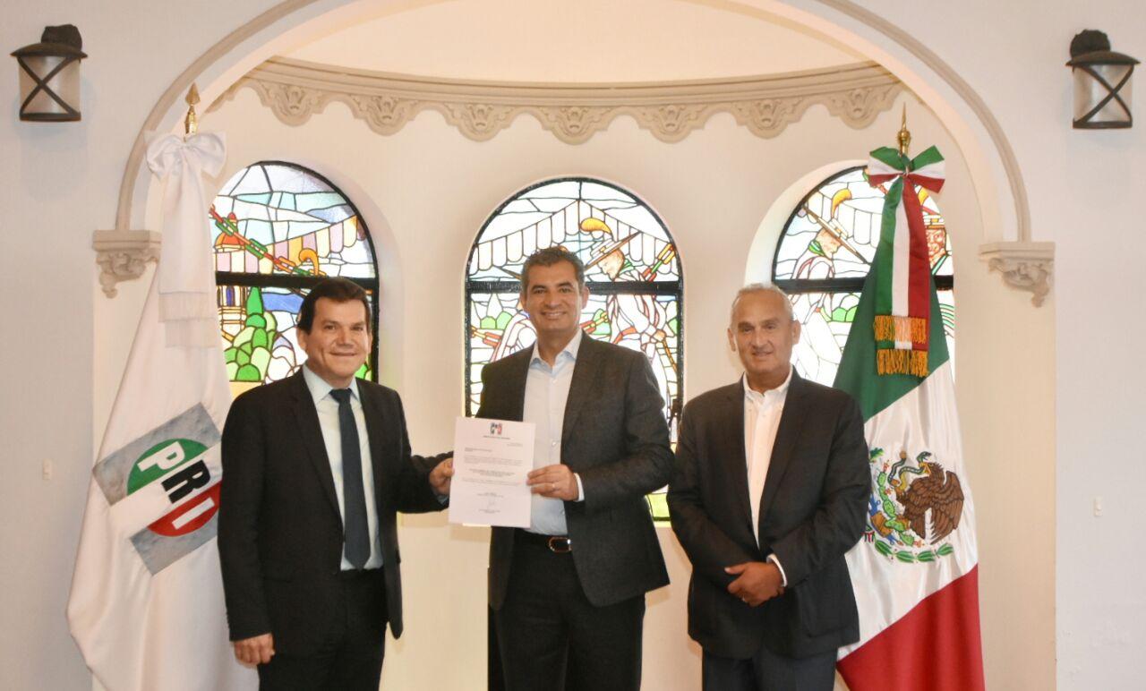 Nombra Enrique Ochoa a Evelio Plata Inzunza como Delegado del CEN del PRI en Durango