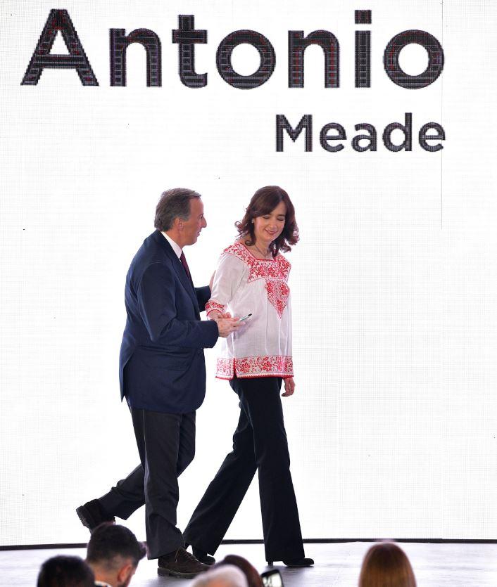 José Antonio Meade durante la firma del Pacto por la Primera Infancia