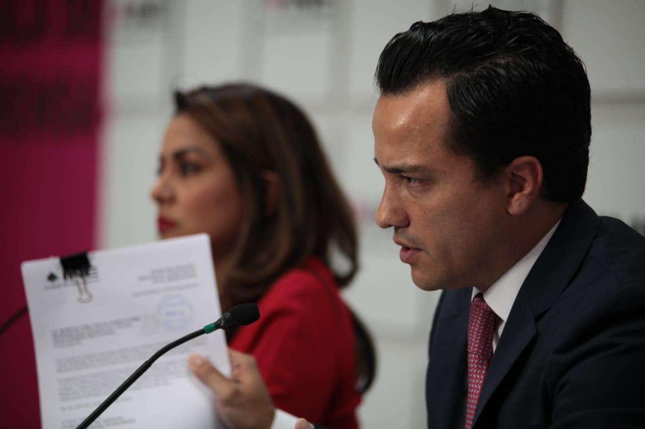 CONFERENCIA DE PRENSA DE LOS REPRESENTANTES DEL CANDIDATO JOSÉ ANTONIO MEADE ANTE EL INSTITUTO NACIONAL ELECTORAL INE
