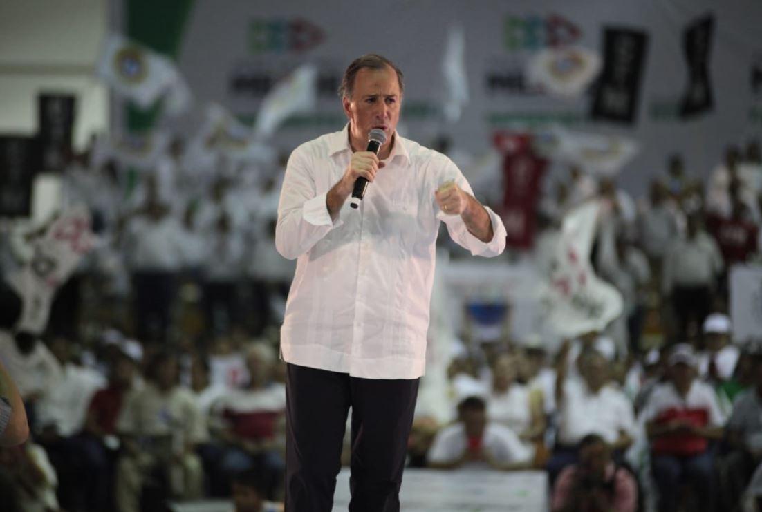 José Antonio Meade durante el evento Compromisos por Jalisco
