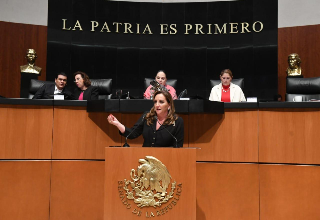 INTERVENCIÓN DE CLAUDIA RUIZ MASSIEU, A NOMBRE DEL PRI, EN CONTRA DE LA REFORMA AL ART. 19 CONSTITUCIONAL