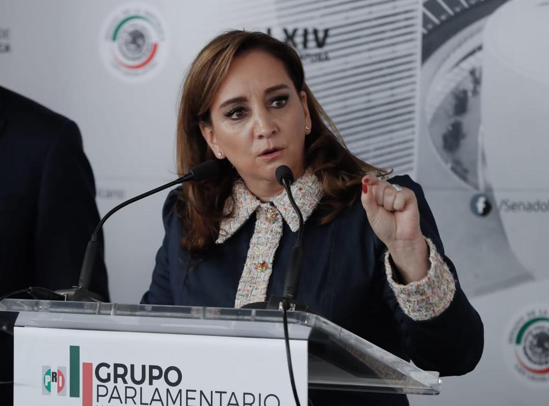 CONFERENCIA DE PRENSA DE INTEGRANTES DEL GRUPO PARLAMENTARIO DEL PARTIDO REVOLUCIONARIO INSTITUCIONAL.