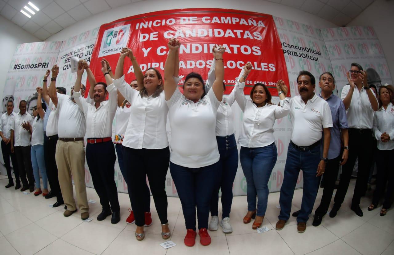 FORTALECE RUIZ MASSIEU EL INICIO DE LAS CAMPAÑAS EN QUINTANA ROO.