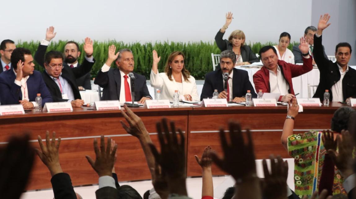 Declina el PRI la participación del INE en la organización de su elección interna.