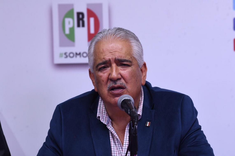 CONFERENCIA DE PRENSA DEL PRESIDENTE DE LA CNPI DEL CEN DEL PRI, RUBÉN ESCAJEDA