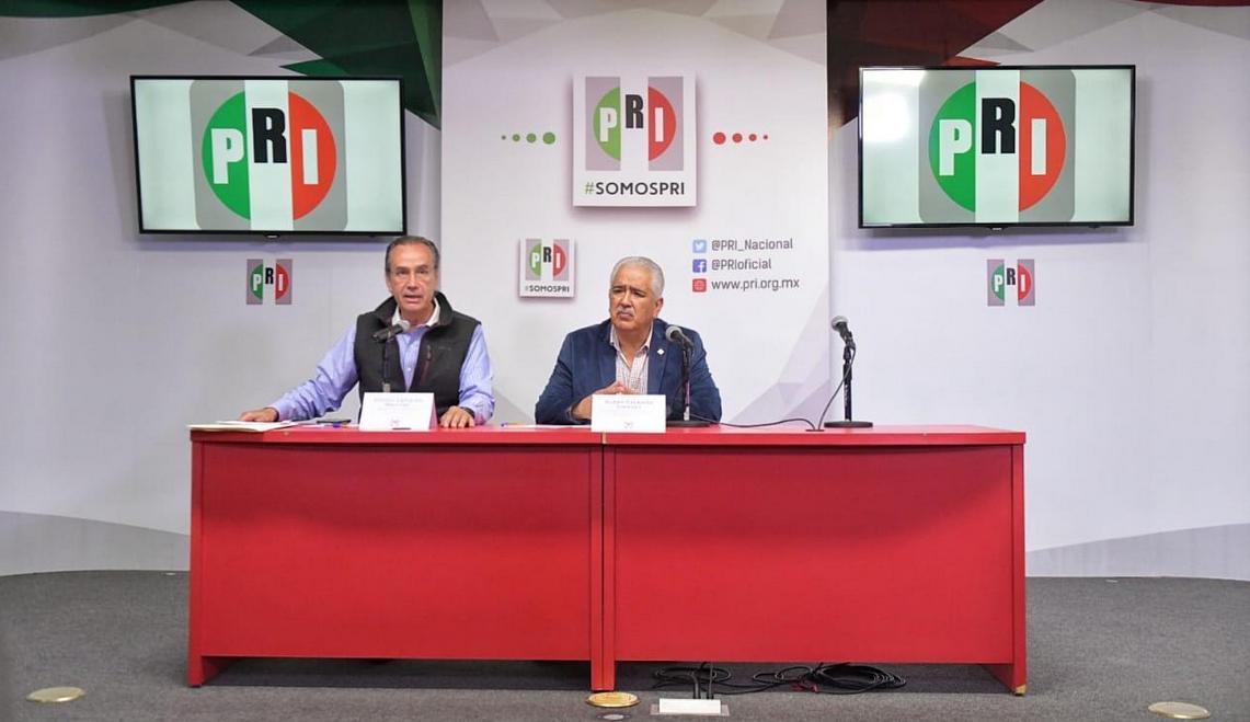 QUINTO REPORTE DE RESULTADOS PRELIMINARES DE LA ELECCIÓN INTERNA DEL PRI: JOSÉ RUBÉN ESCAJEDA JIMÉNEZ, PRESIDENTE DE CNPI