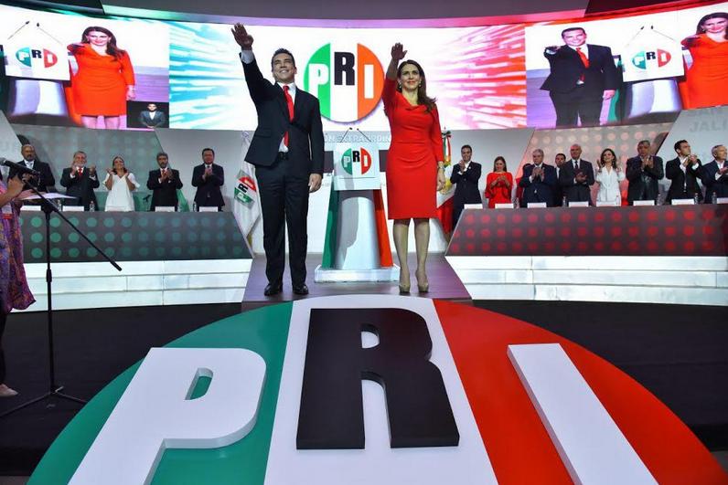 TOMA DE PROTESTA DE LA DIRIGENCIA ELECTA DEL CEN DEL PRI PARA EL PERIODO ESTATUTARIO 2019-2023