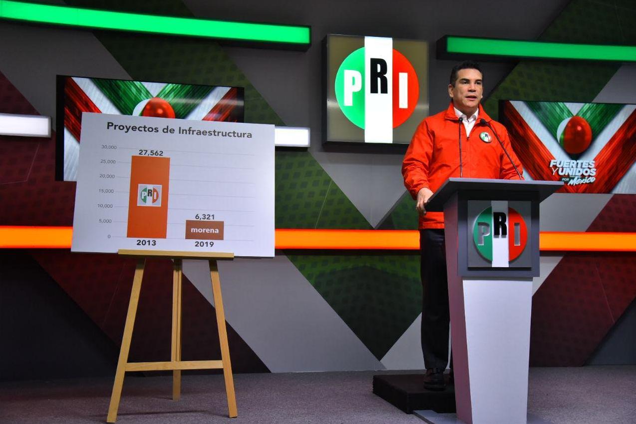MORENA ha mostrado su peor cara; su gobierno no da resultados a México: Alejandro Moreno.