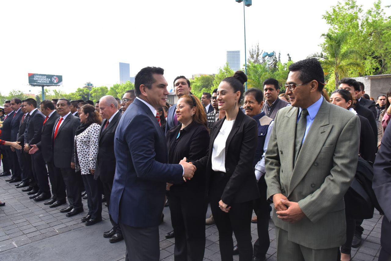LOS PRIISTAS DEBEMOS TRABAJAR TODOS LOS DÍAS PARA GARANTIZAR PAZ, ARMONÍA Y TRANQUILIDAD AL PUEBLO DE MÉXICO: ALEJANDRO