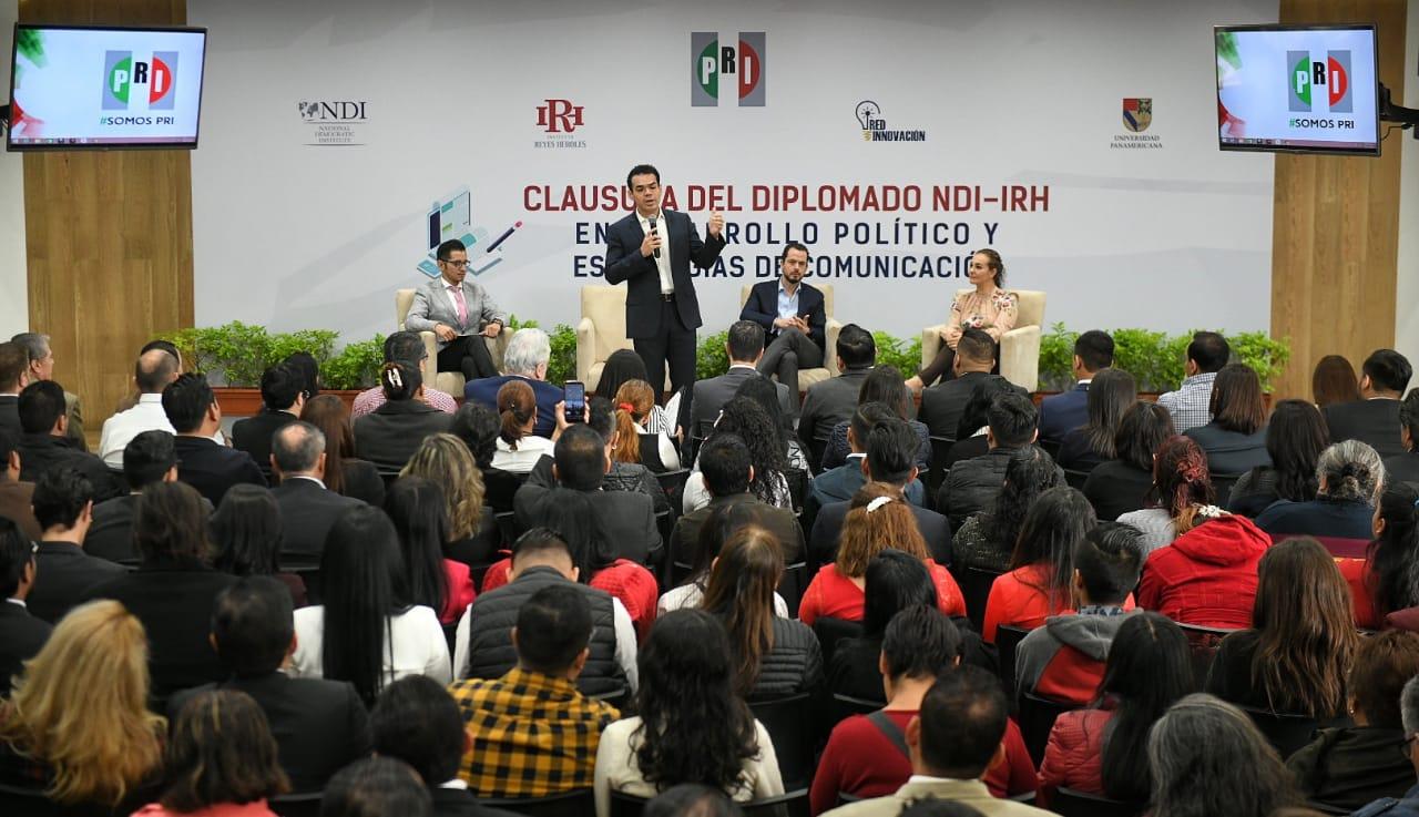 BRINDA EL PRI HERRAMIENTAS A LOS JÓVENES PARA SER COMPETITIVOS EN LA VIDA POLÍTICA: DIPUTADO PABLO ANGULO BRICEÑO