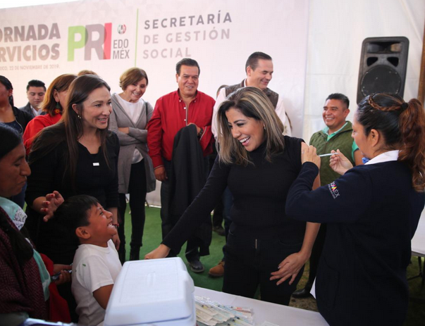 A CIEN DÍAS DEL CAMBIO DE DIRIGENCIA DEL CEN, EL PRI VA AL ENCUENTRO DE SU MILITANCIA.