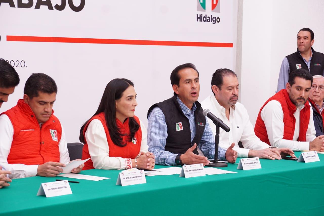 ARRANCA EL PRI PREPARATIVOS PARA ASEGURAR TRIUNFO EN HIDALGO