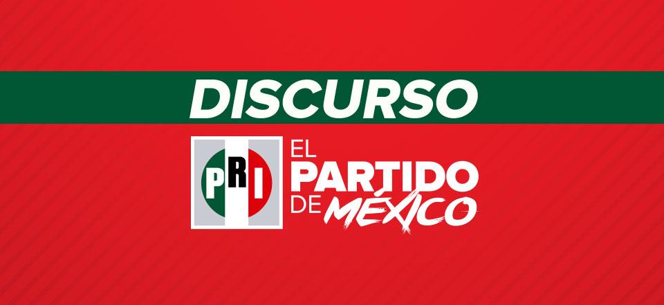 Mensaje del Lic. Alejandro Moreno, Presidente del CEN del PRI, en la LI Sesión Extraordinaria del Consejo Político Nacional.