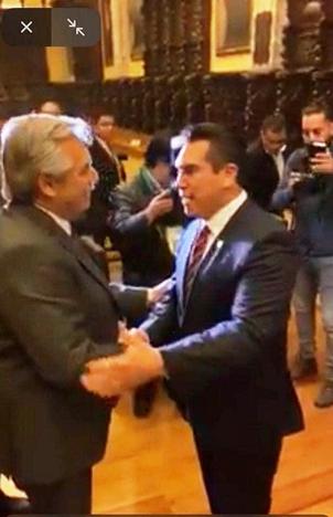 ALEJANDRO MORENO FELICITA AL PRESIDENTE ALBERTO FERNÁNDEZ POR RENEGOCIACIÓN EXITOSA DE DEUDA ARGENTINA