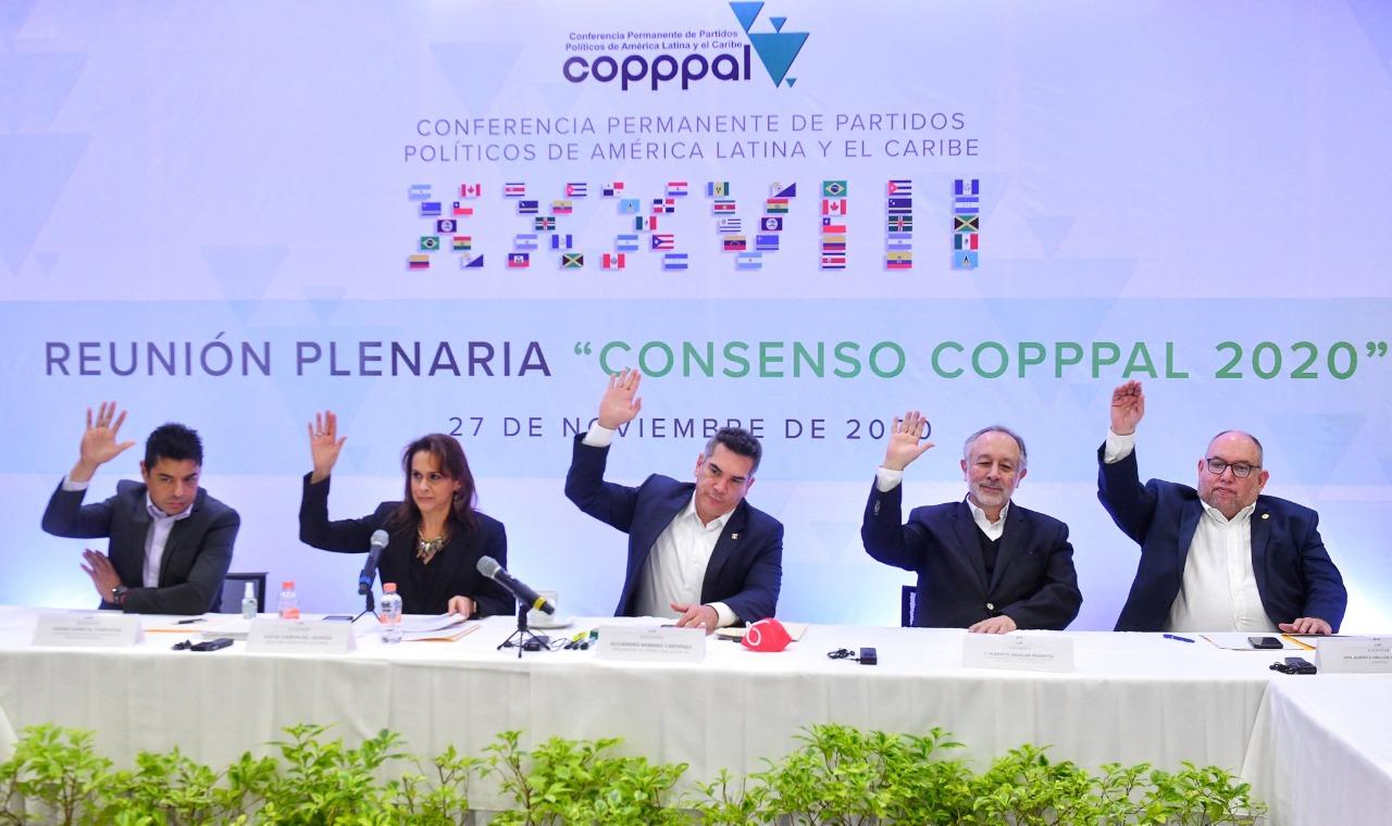 """CONVOCA ALEJANDRO MORENO A IMPULSAR EL CONSENSO COPPPAL 2020, PARA CONSTRUIR UNA """"PATRIA GRANDE"""""""