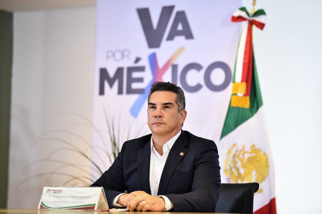"""PRD, PRI y PAN anuncian coalición """"Va por México"""" para elección federal del 2021"""