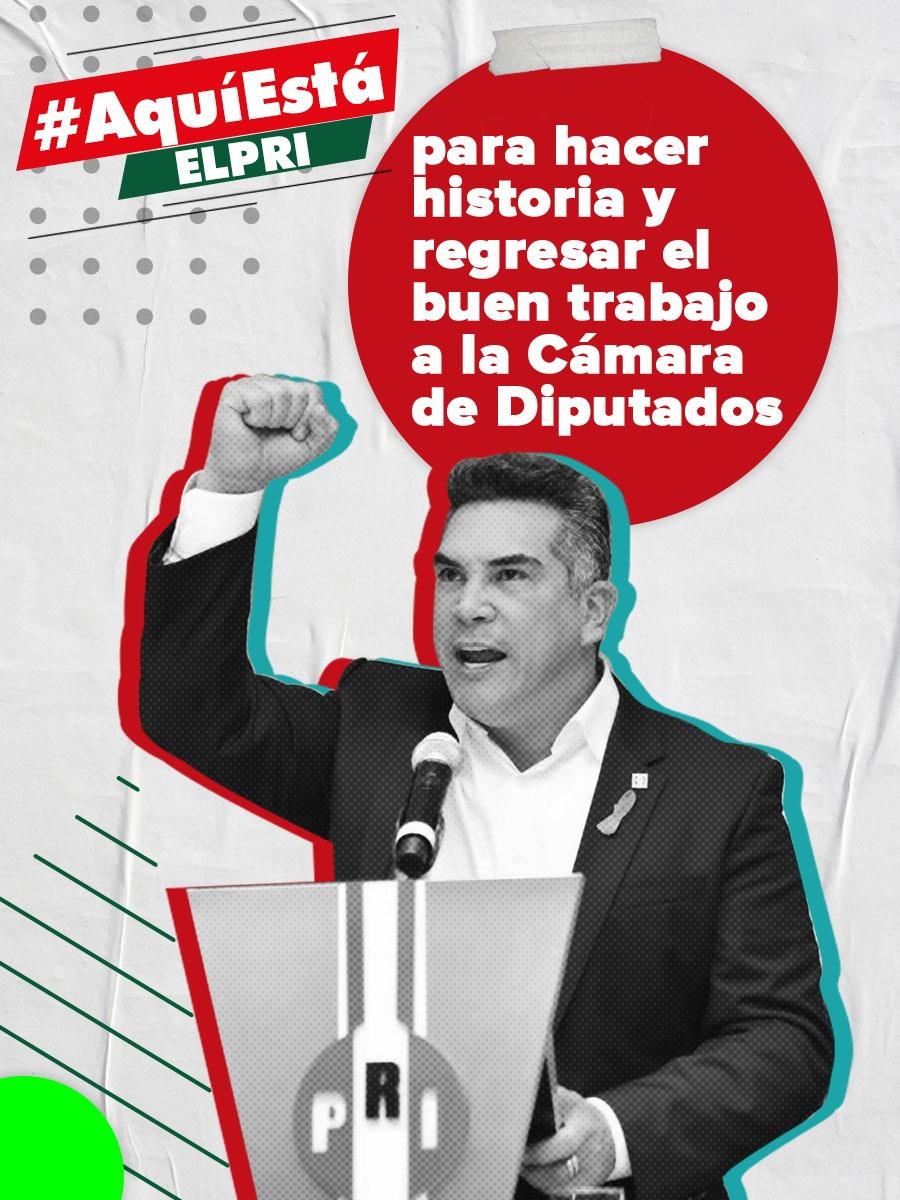EL PRI ESTÁ LISTO PARA EL 2021 Y DAR TODO POR MÉXICO