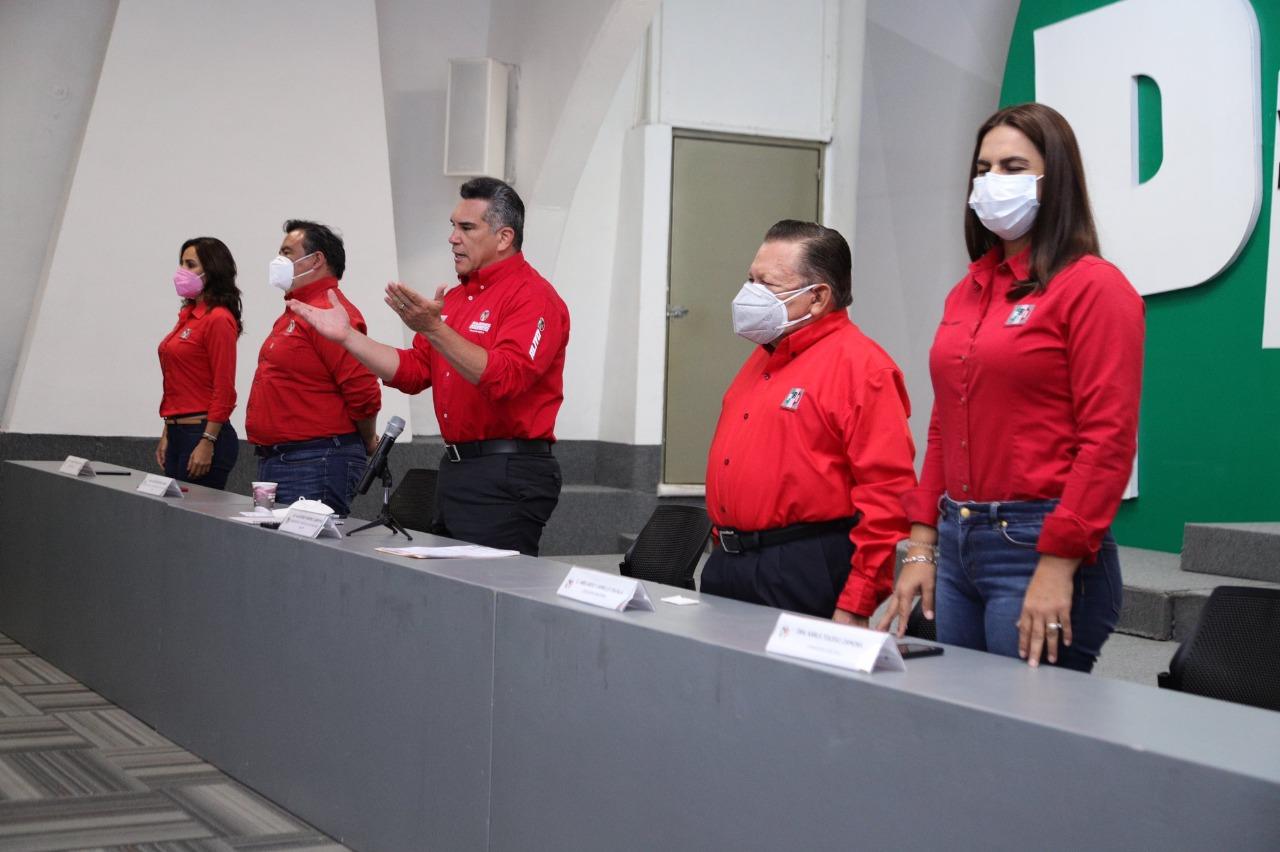 NUESTRA VICTORIA YA EMPEZÓ; PARA LOS PRIISTAS NO HAY OBSTÁCULO PARA SERVIR A MÉXICO: ALEJANDRO MORENO