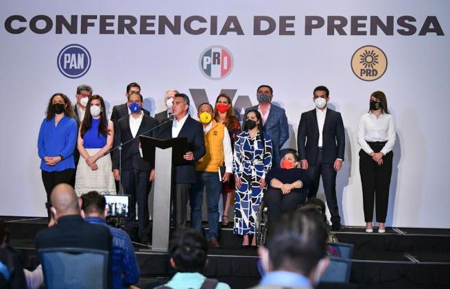 A PESAR DEL ATAQUE SISTEMÁTICO CONTRA LA OPOSICIÓN, MÉXICO VOTÓ POR TENER PESOS Y CONTRAPESOS: ALEJANDRO MORENO