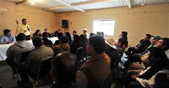 Sostiene Benítez Ojeda encuentro con militancia de Mapimí