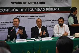 """En la Comisión de Seguridad Pública es fundamental generar una cultura de """"más vale prevenir que perseguir"""": Huicochea"""