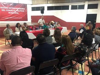 Victor Silva toma protesta al Consejo Político Permanente Municipal de La Piedad.