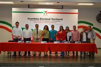 El 10 de marzo será la Convención de Delegados y Delegadas para elegir candidatos del PRI para tres municipios de Aguasc