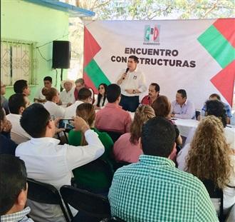 Sostienen dirigencia del PRI encabezada por Esteban Albarrán y Gaby Bernal, un encuentro con estructuras y militancia Z.