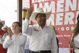 """Haremos del """"Triángulo Rojo"""" una potencia agrícola: Jiménez Merino."""