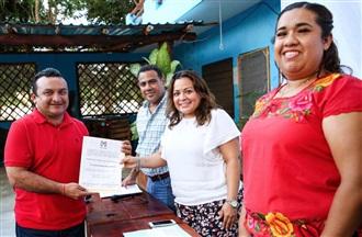 Toma posesión la dirigencia del PRI en Puerto Morelos.