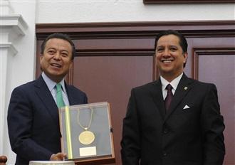 LA SOLIDARIDAD ENTRE MEXICANOS HARÁ  UN PAÍS MÁS JUSTO: CÉSAR CAMACHO