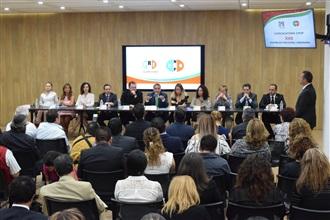 Conferencia de Prensa del Dr. Arturo Zamora en la firma de la convocatoria de la XXII Asamblea Nacional