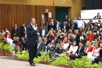 Mensaje de José Antonio Meade, durante su reunión con aspirantes a gubernaturas, diputaciones y senadurías del PRI