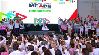 José Antonio Meade en el marco de su arranque de campaña