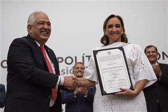 El Consejo Político Nacional elige a Claudia Ruiz Massieu como Presidenta del CEN del PRI