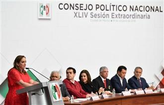 XLIV Sesión Extraordinaria del Consejo Político Nacional del PRI