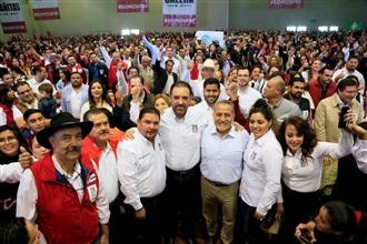 Convoca Arturo Zamora a defender al PRI y el orgullo de ser priistas