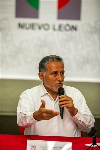Arturo Zamora, en Conferencia de Prensa respecto a la resolución del TEPJF, sobre la anulación de la elección en N.L.