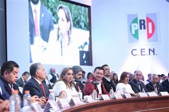 Inician los trabajo del Consejo Político Nacional del PRI