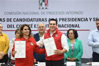 EMITE PRI DICTÁMENES DE PROCEDENCIA Y ENTREGA CONSTANCIAS A CANDIDATOS A DIRIGENCIA NACIONAL.