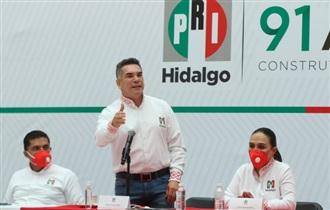 PRI DE HIDALGO ES DE RESULTADOS Y SEGUIREMOS RESOLVIENDO NECESIDADES: ALEJANDRO MORENO