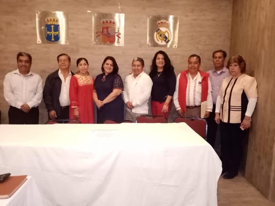 Taller de Capacitación en Derechos Políticos a Secretarias Y Secretarios de Acción Indígena.
