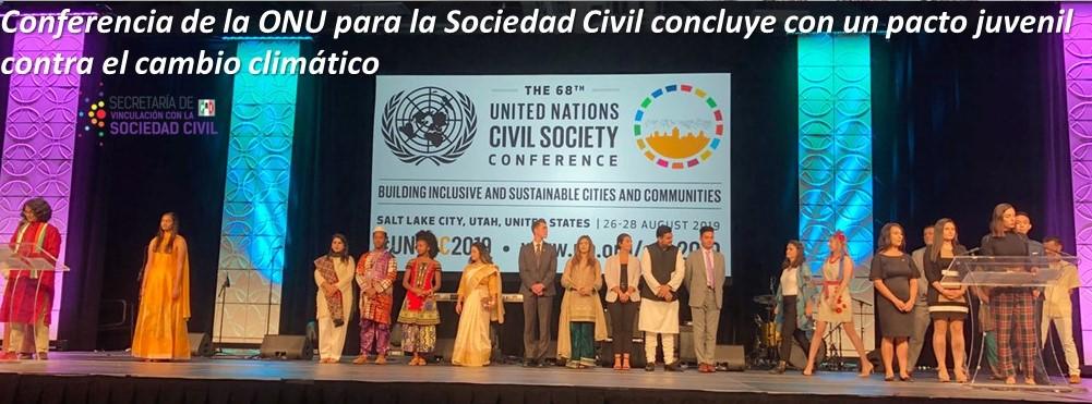 Declaración final de la 68ª Conferencia de la Sociedad Civil de las Naciones Unidas