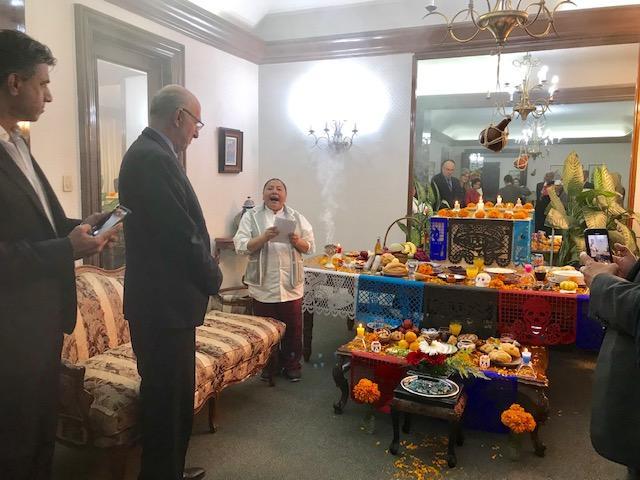 Cena de despedida a los Embajadores de Tailandia, Eslovaquia y Chipre,